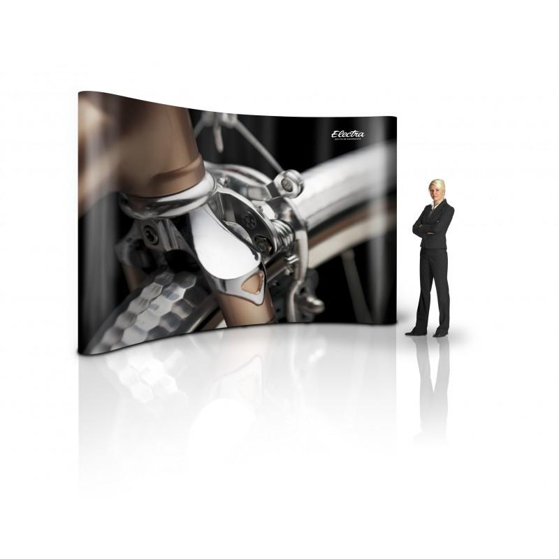 MediaWall 4x3 PodiumCase Komplett-Set