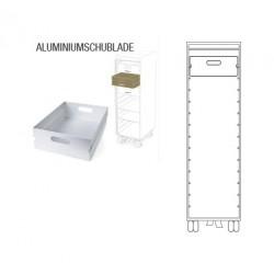 Aluminiumschublade für bordbar