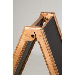 Holz Kundenstopper