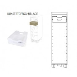 Kunststoffschublade für bordbar
