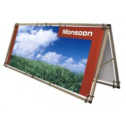 "Outdoor Werbeaufsteller ""Monsoon"""