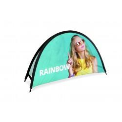 """Outdoor Werbeaufsteller """"Rainbow"""""""